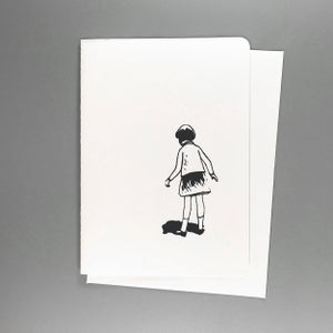 Image of Lost Girl Greeting Card