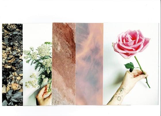Image of postcard magic sets