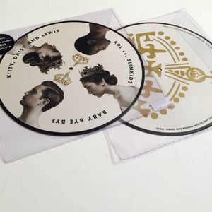 "Image of Kitty, Daisy & Lewis vs. slimkid3 - Baby Bye Bye (Picture Disc 12"")"