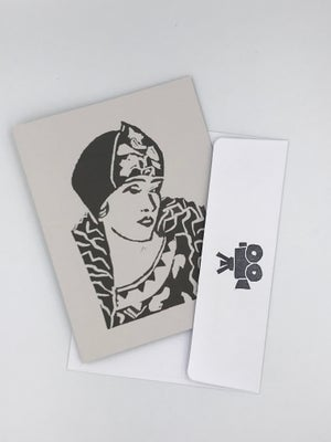 Image of Gloria Swanson note card