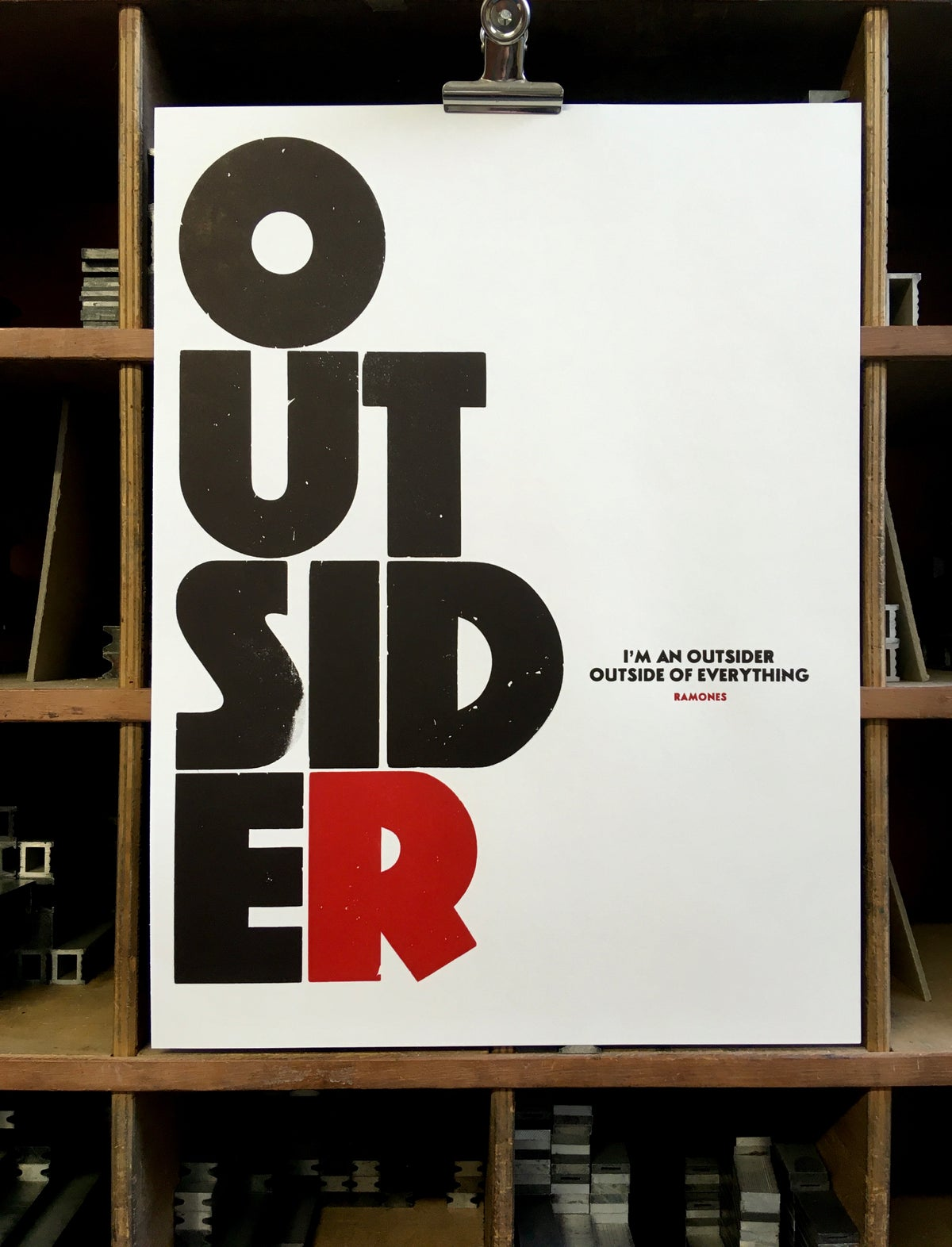 Image of OUTSIDER