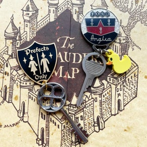 Image of Special Bathroom Key and Keychain