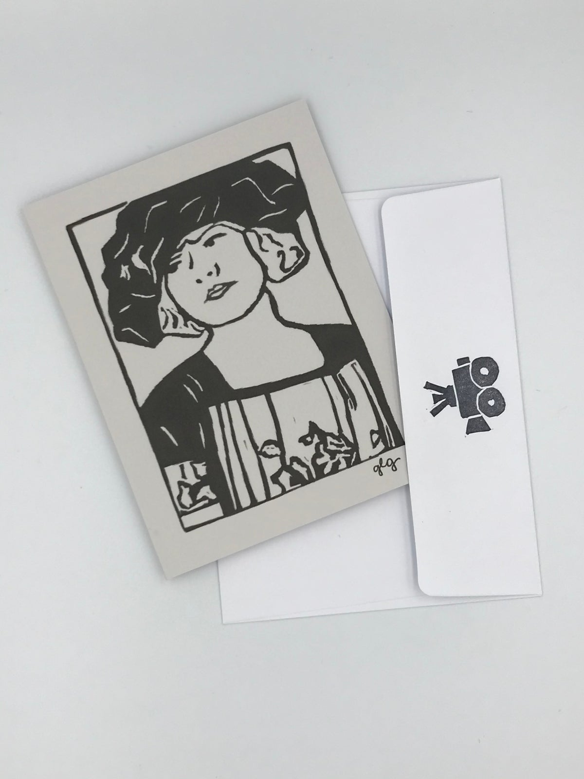 Image of Ruth Gordon note card