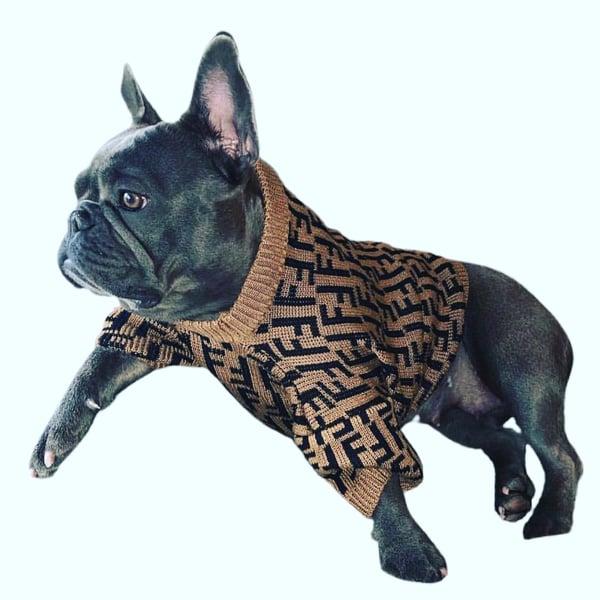 """Image of Dogs5thAvenue Fendi """"Doggie"""" Sweater"""