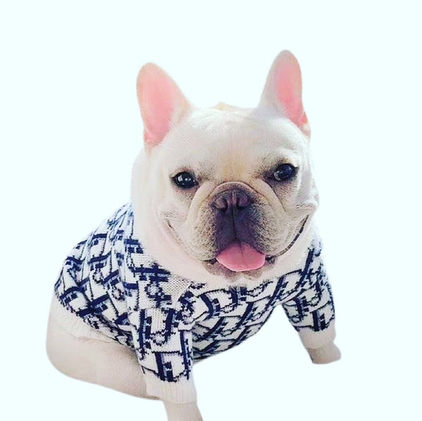 "Image of Dogs5thAvenue Dior ""Doggie"" Sweater"