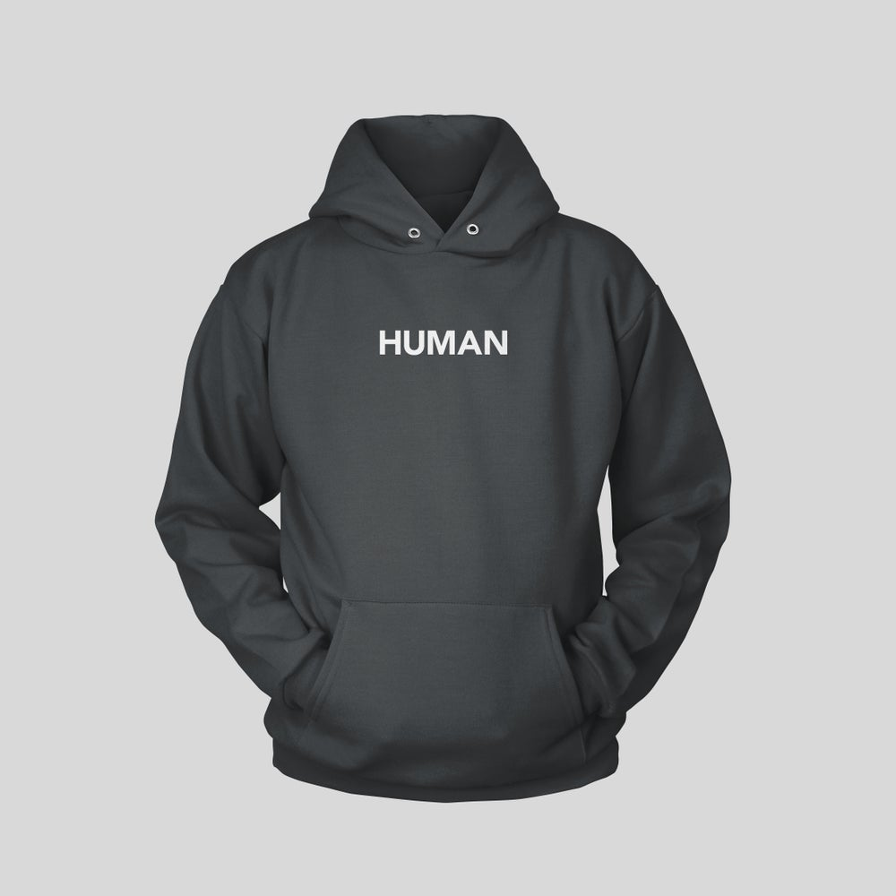 """Image of HUMAN 2.2 HOODIE IN """"WASHED OUT BLACK"""""""