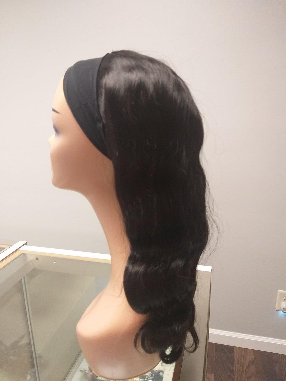 Headband wigs bodywave 16in