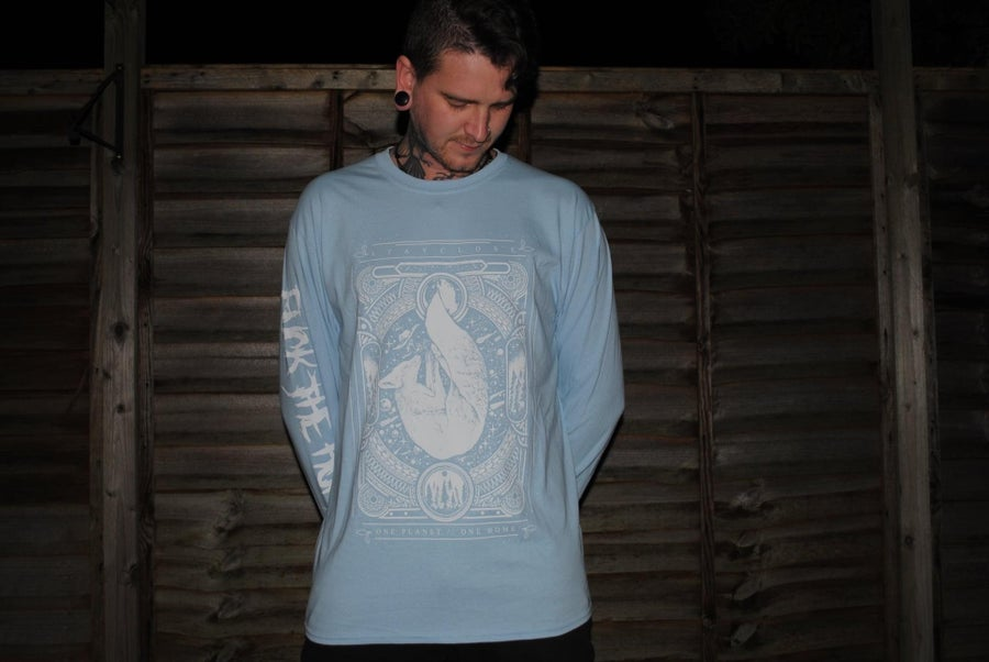 Image of FTH blue long sleeve