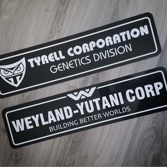 Image of Tyrell and Weyland