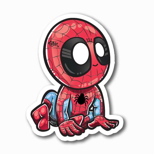 Image of Spider-Baby Sticker