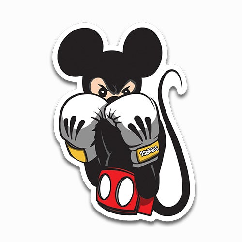 Image of Mickey Said Knock You Out! Sticker