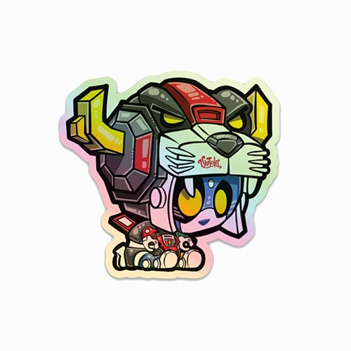 Image of Pandatron Sticker | Holographic | LE 50