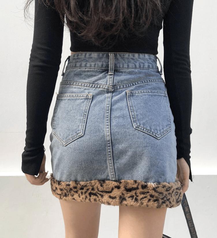 Riley Cheetah Skirt