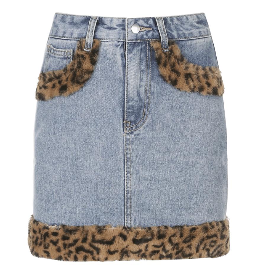 Image of Riley Cheetah Skirt