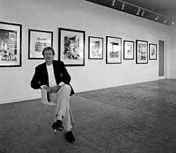 Image of JOE HENDERSON @ Catalina Jazz Club, Hollywood (B&W, circa 1980's)   Limited Edition Photography