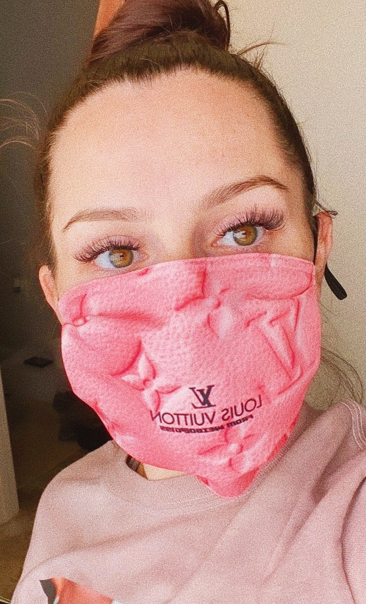 Pink Louie Mask