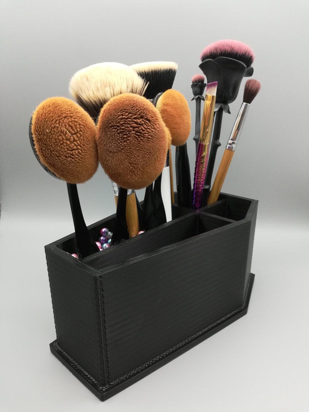 Make Up Brush Holder Coffin
