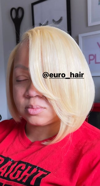 Image of BOMBSHELL BLONDE TOP-TO-BOTTOM PREMIUM EXTENSIONS STRAIGHT TEXTURE