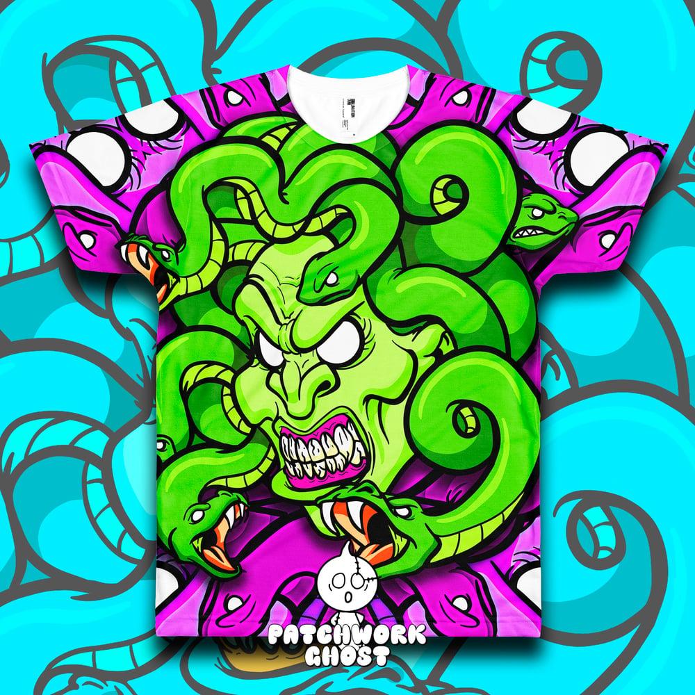 Image of Medusa All Over Print Shirt