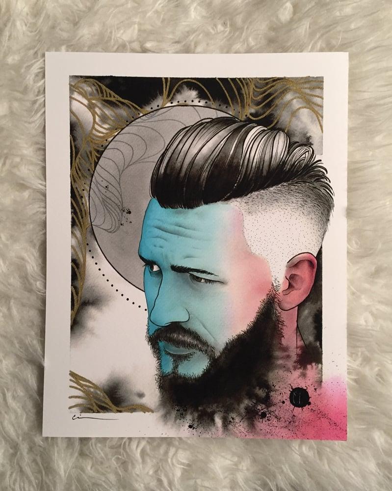 """Image of Man Print 11x14"""" - Cody Eich"""