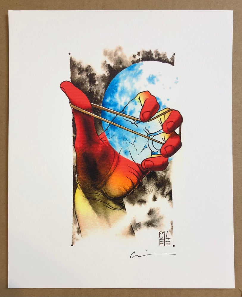 "Image of Hand Print 8x10"" - Cody Eich"
