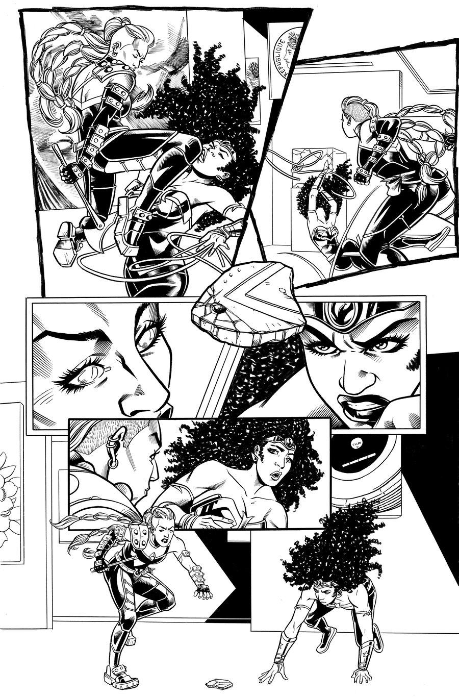 Image of Immortal Wonder Woman: Nubia (2021) #1 PG 7