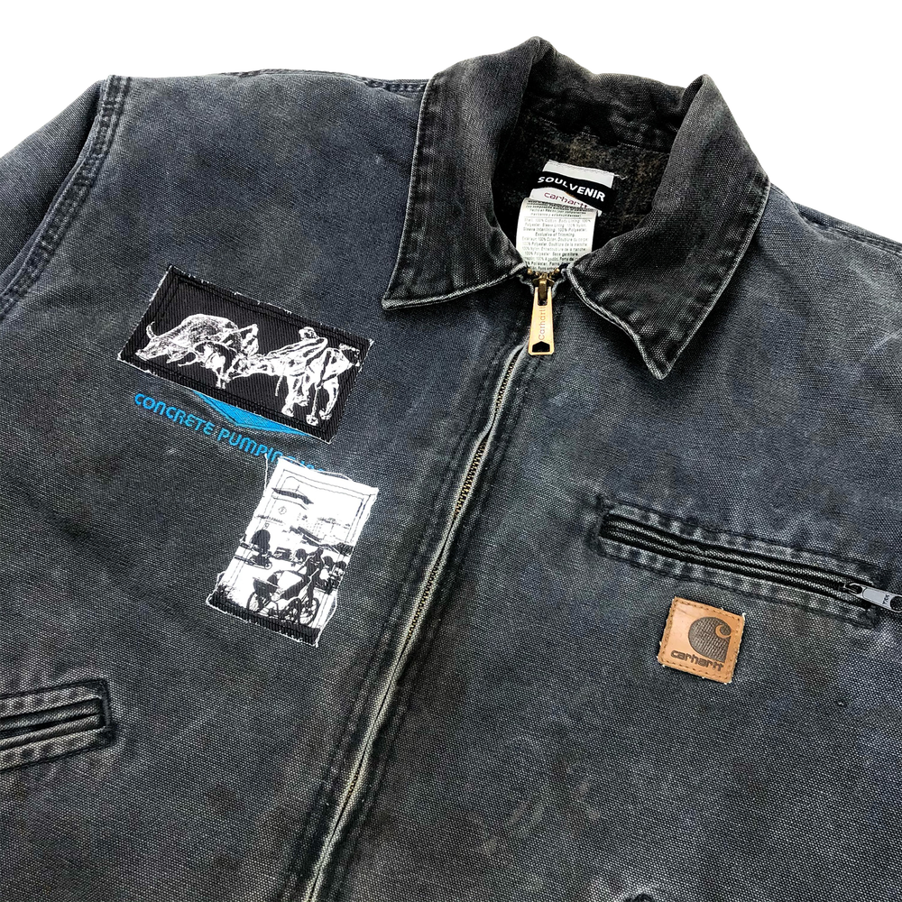 Image of Lao Động Vintage Jacket (Washed Navy)