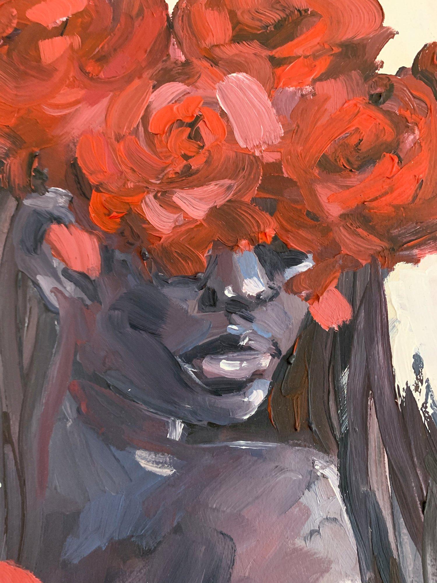 Agnes-Cecile the scent - sketch