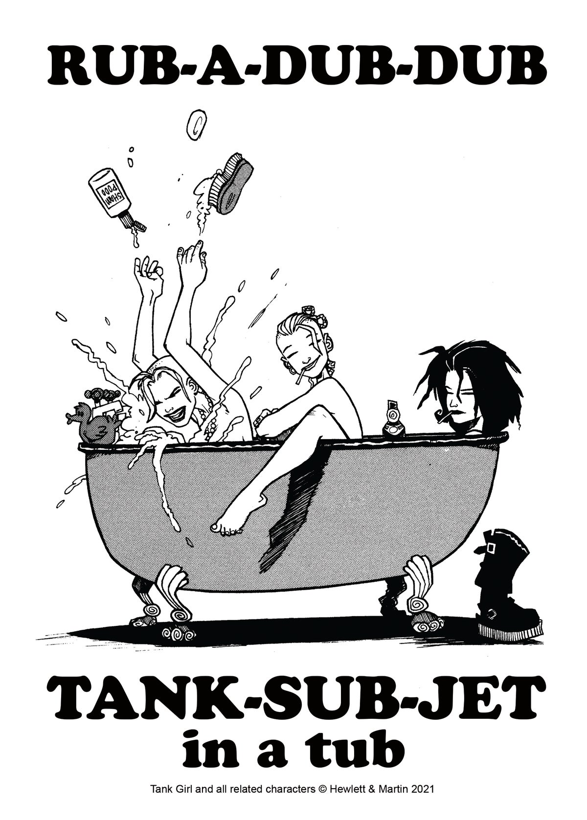 "Image of Tank Girl ""Very"" Poster Magazine Special"