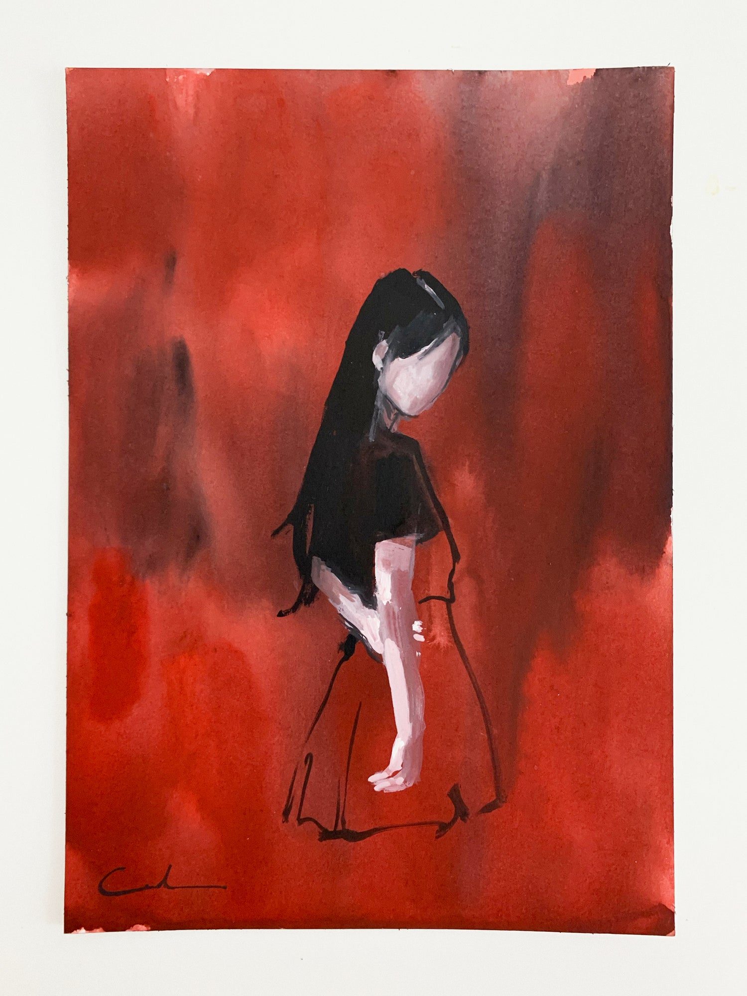 Agnes-Cecile empty red