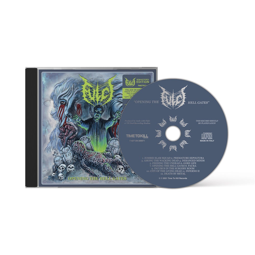 """Fulci """"Opening the Hell Gates"""" re-issue - cd jewelcase"""