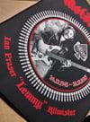 Motorhead Lemmy Tribute Woven Backpatch *import*