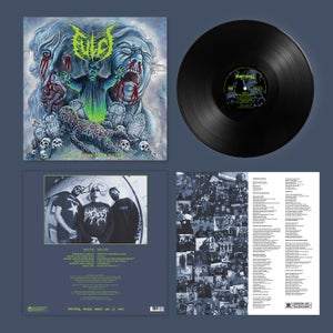 """Image of Fulci """"Opening the Hell Gates"""" re-issue - black vinyl - PRE ORDER"""