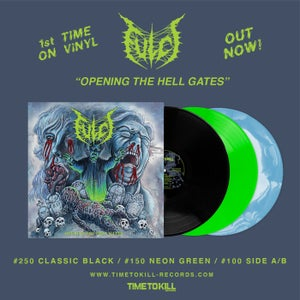 """Image of Fulci """"Opening the Hell Gates"""" re-issue - A/B Side vinyl - PRE ORDER"""