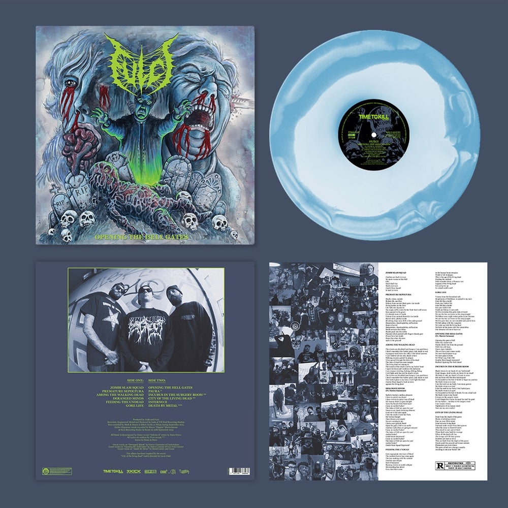 """Fulci """"Opening the Hell Gates"""" re-issue - A/B Side vinyl"""