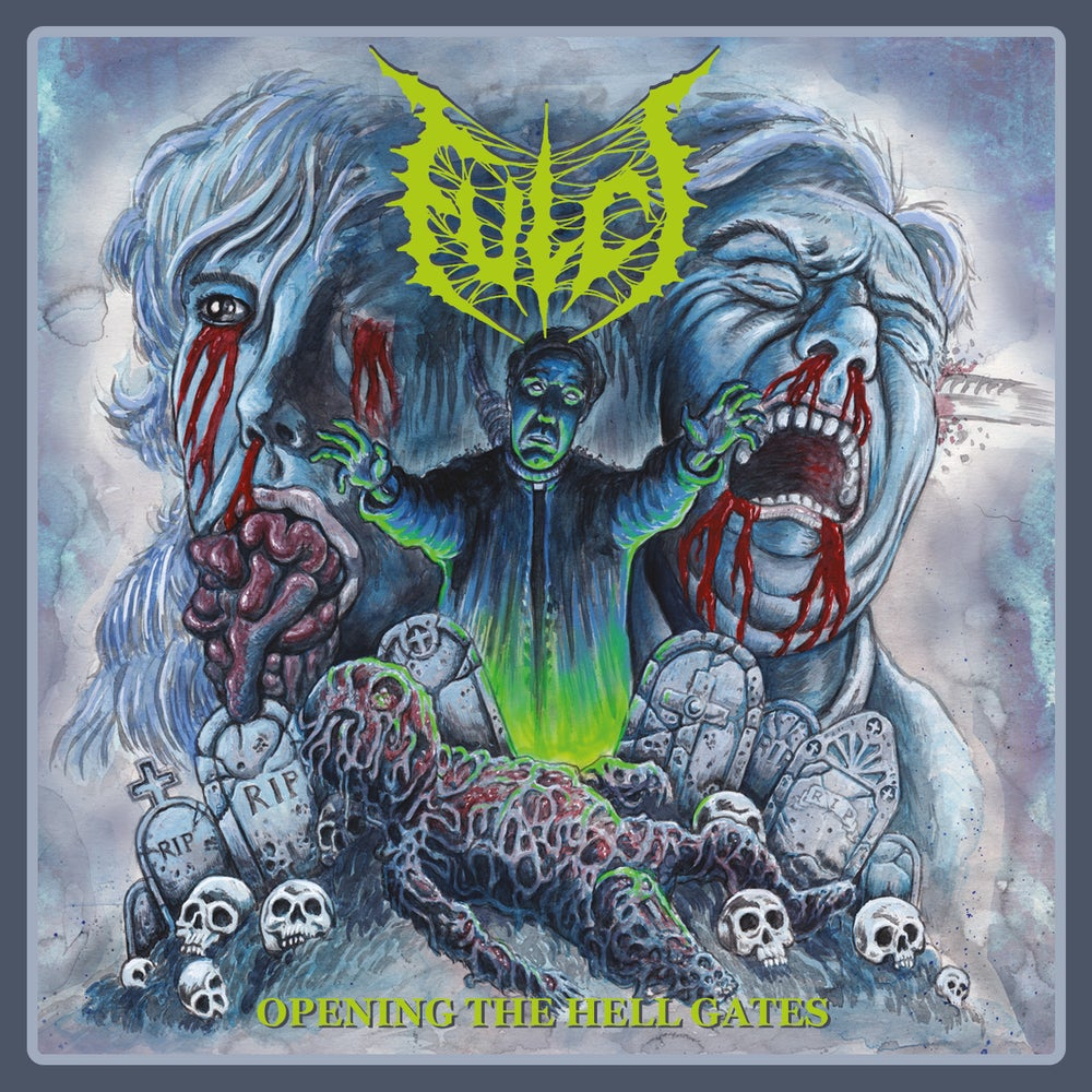 """Fulci """"Opening the Hell Gates"""" re-issue - fluo green vinyl - PRE ORDER"""