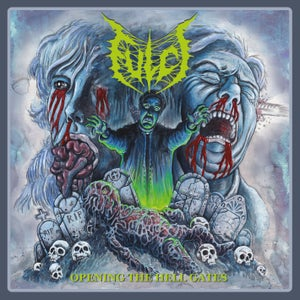 """Image of Fulci """"Opening the Hell Gates"""" re-issue - fluo green vinyl - PRE ORDER"""