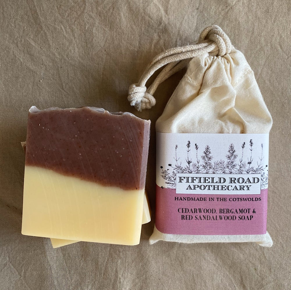 Image of Cedarwood, Bergamot and Red Sandalwood Soap