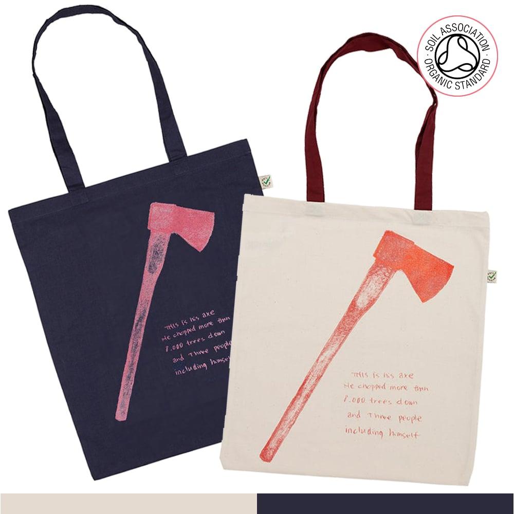 Axe Tote Shopping Bag (Organic)
