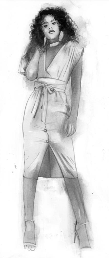 Image of ORIGINAL ART - SYLVIA SAFE SEX