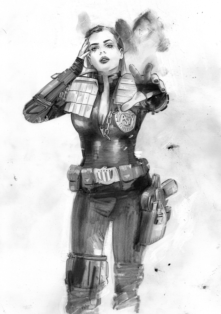 Image of ORIGINAL ART - 2000AD 2137 PRELIM