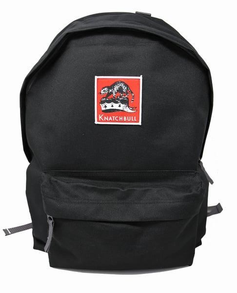 Image of Knatchbull Classic Lemmy Logo Backpack 22 litres