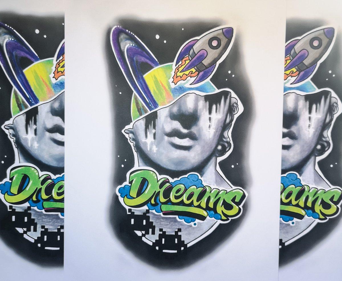 A4 Space Dreams