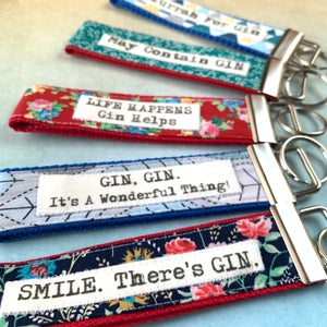 Image of Gin keyfobs