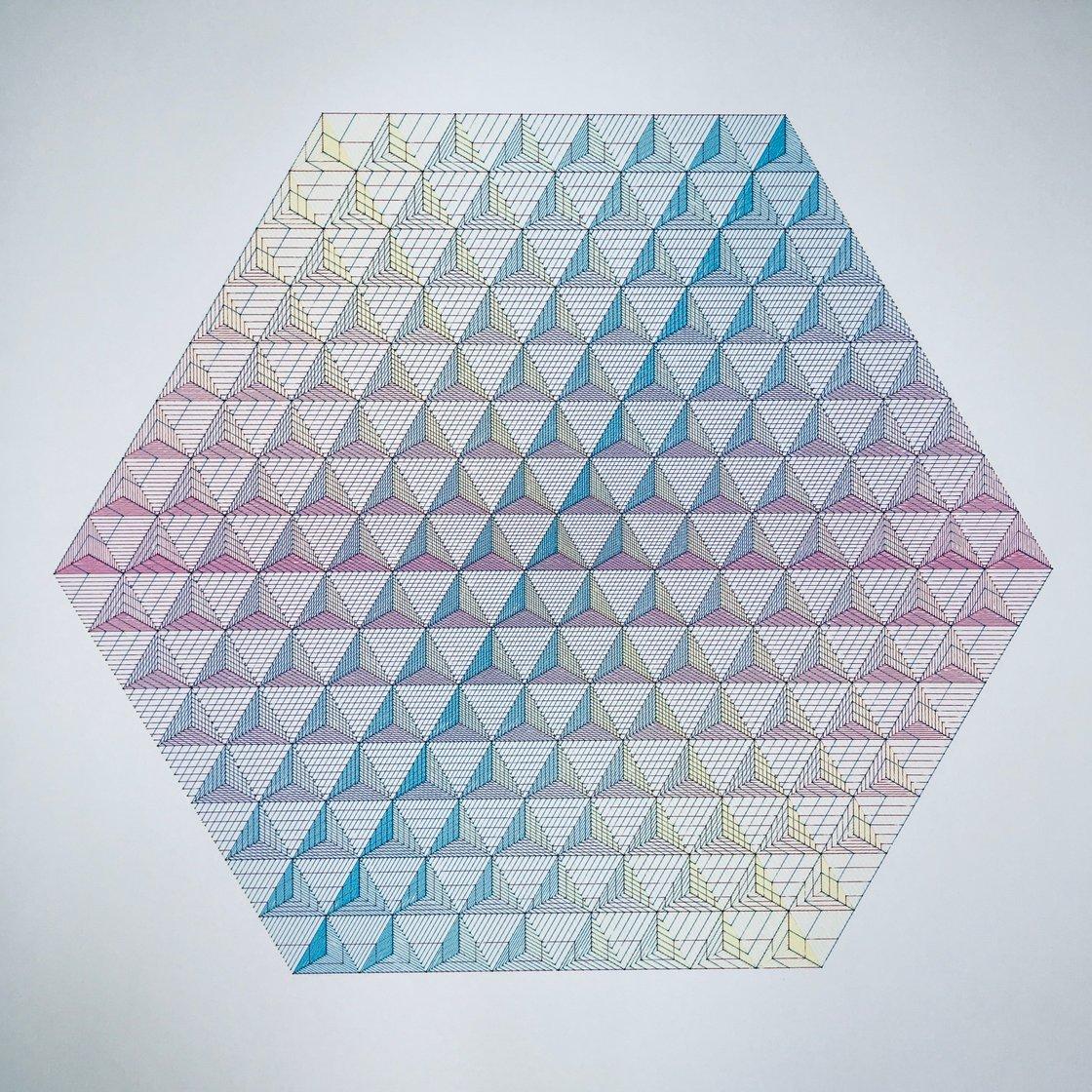 Image of CMY Tetrahedron