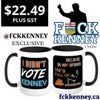I Didn't VOTE Kenney- Because He's Full Of  15 oz Mug