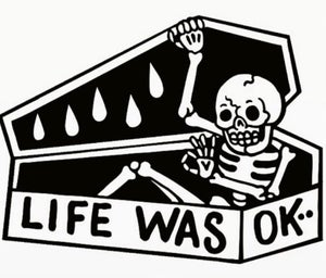 Image of Limited 11x17 life was ok print