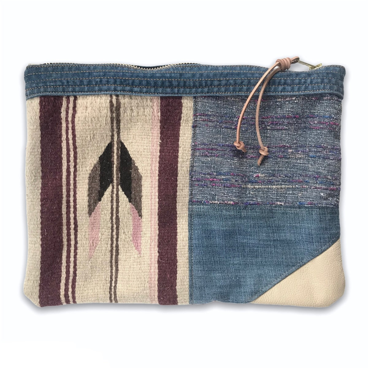 Image of COLLAGE POUCH 3 - LARGE