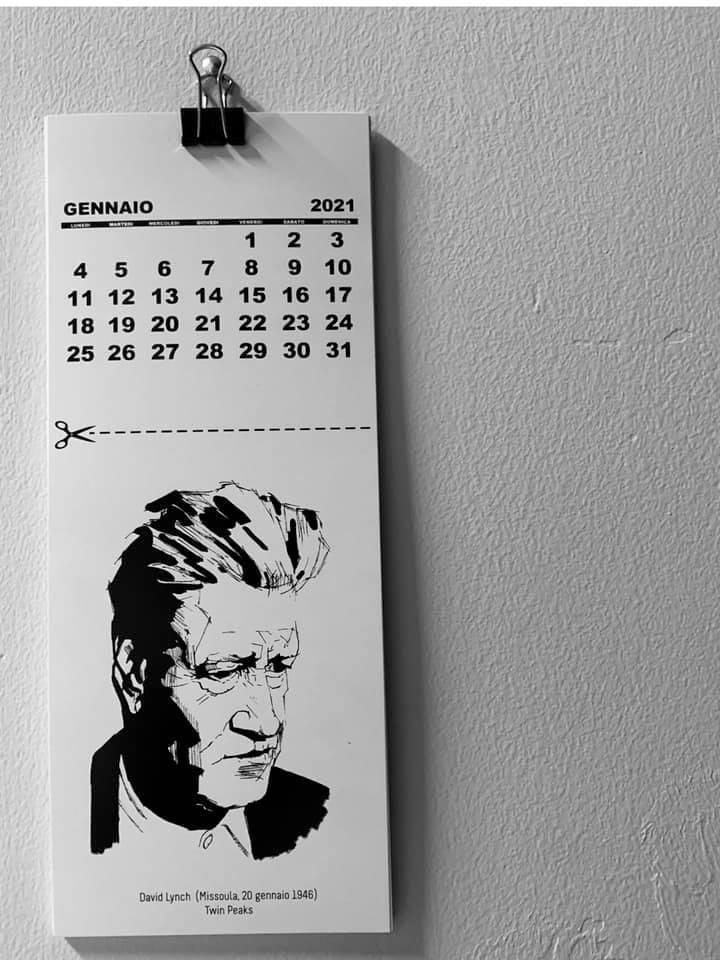 Image of Calendario Cinematografico Internazionale 2021 di Valentina Restivo