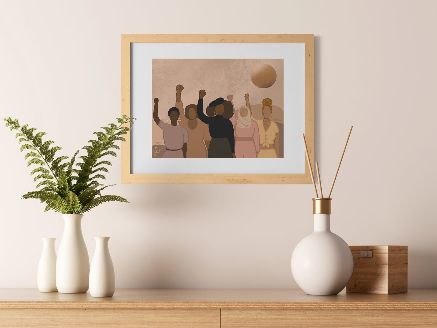 Image of The Fight | Art Print